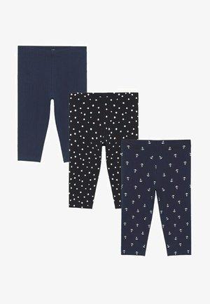 3 PACK - Leggings - Trousers - donkermarine