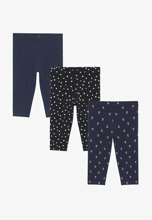 Mango - 3 PACK - Leggings - Trousers - donkermarine