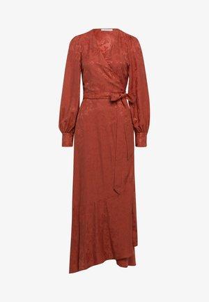 Maxi šaty - tuscan red