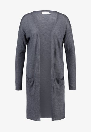 SANDRA CARDIGAN - Kardigan - dark grey melange