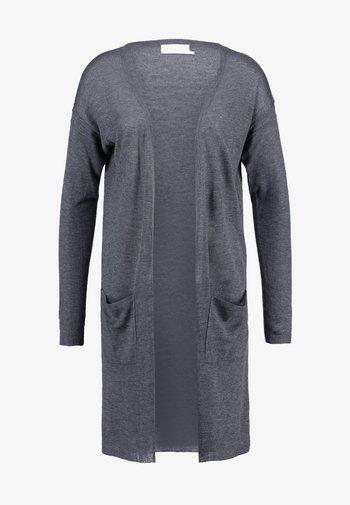 SANDRA CARDIGAN - Cardigan - dark grey melange