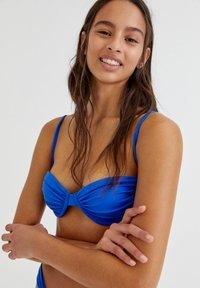 PULL&BEAR - Bikini top - dark blue - 3