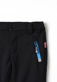TrollKids - KIDS FJELL PANT - Długie spodnie trekkingowe - black - 2