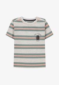 Esprit - Print T-shirt - silver - 0