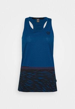 TANK SEEK - Funkční triko - ocean blue