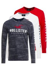 Hollister Co. - GIFTSET 3 PACK - Pitkähihainen paita - multi - 0