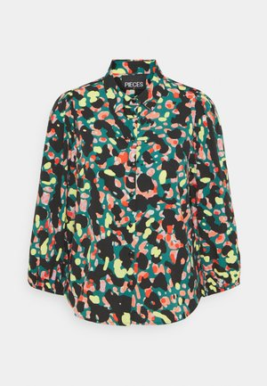 PCROSIA  - Button-down blouse - multi-coloured