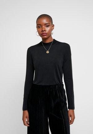 DAHLIA - Maglietta a manica lunga - black