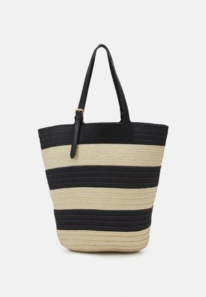 DAY BLOCKED BAG - Tote bag - black