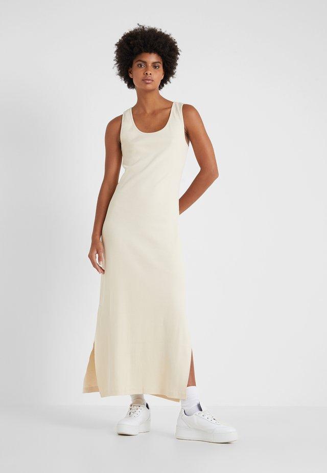 HIDRA DRESS - Vestito lungo - sand