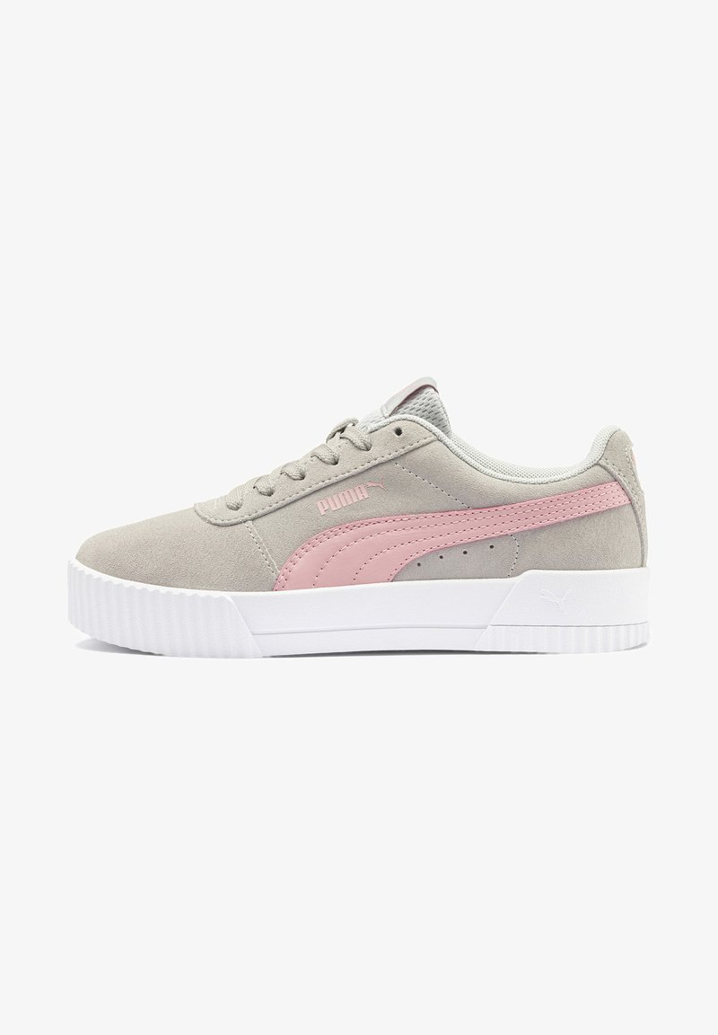 Puma - CARINA YOUTH - Trainers - gray violet-bridal rose