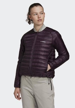 TERREX HIKE BOMBER DOWN JACKET - Dunjakker - purple