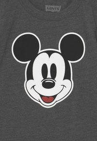 Levi's® - MICKEY MOUSE HEAD UNISEX - Print T-shirt - charcoal heather - 2