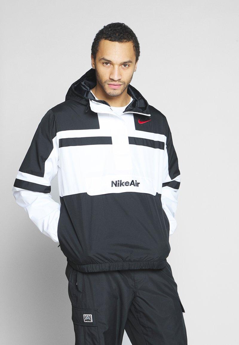 Nike Sportswear - M NSW NIKE AIR JKT WVN - Wiatrówka - white/black