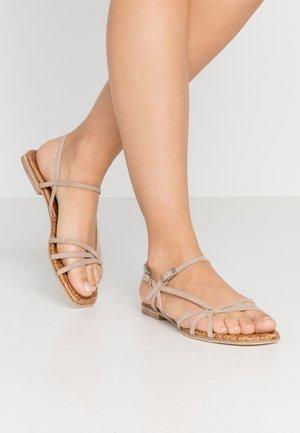 JORDAN - Sandals - caramello