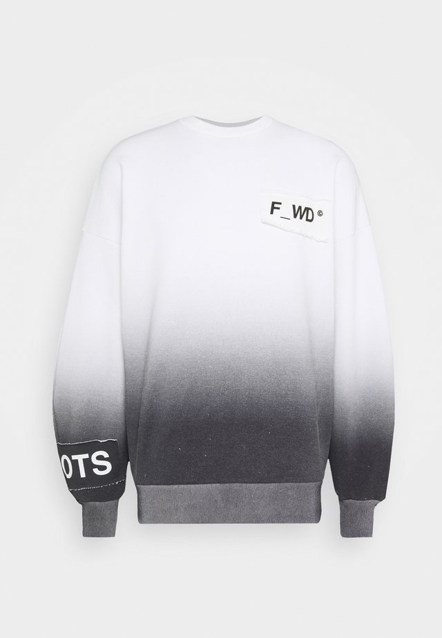 Felpa - white/black