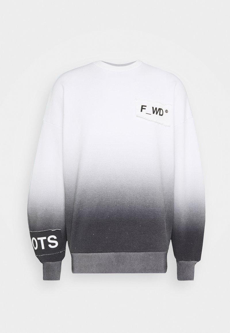 F_WD - Sweatshirt - white/black