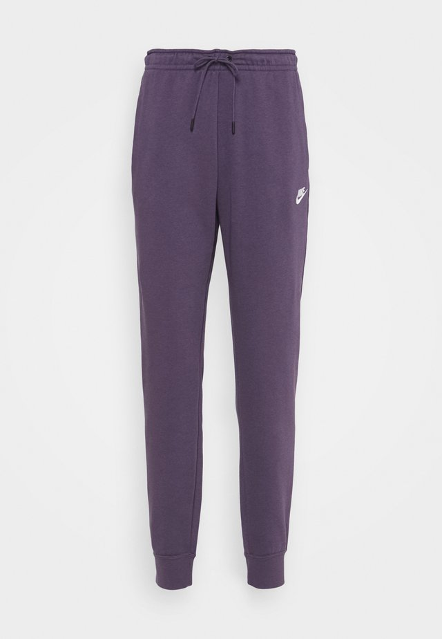 Pantalon de survêtement - dark raisin/white