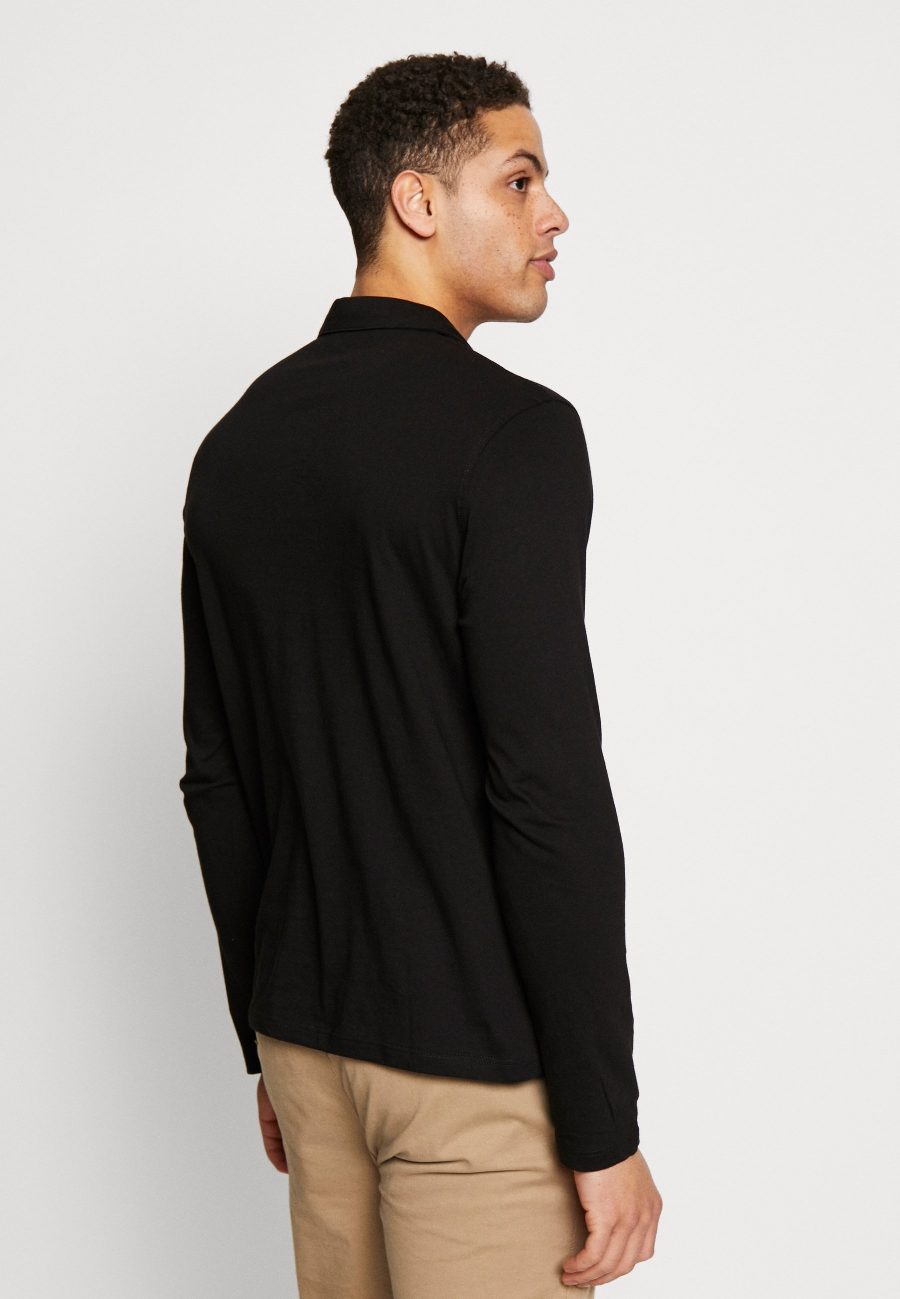 Burton Menswear London 2PACK - Polo shirt - black/grey 4b2Mx