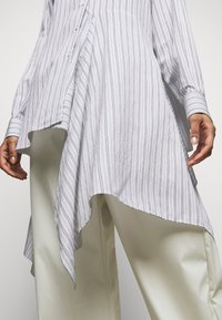 MM6 Maison Margiela - Button-down blouse - white - 5