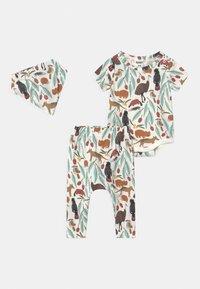 Cotton On - SET UNISEX - Print T-shirt - vanilla - 0