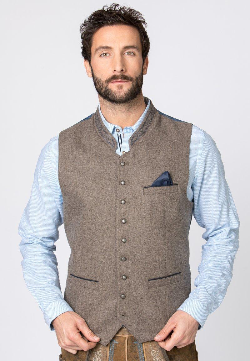 Stockerpoint - Waistcoat - nuss-blau