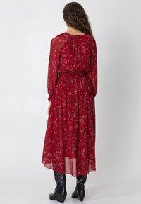 Indiska - Denní šaty - red - 2