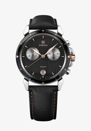 QUARZUHR LEWY 6 SWISS - Chronograph watch - schwarz