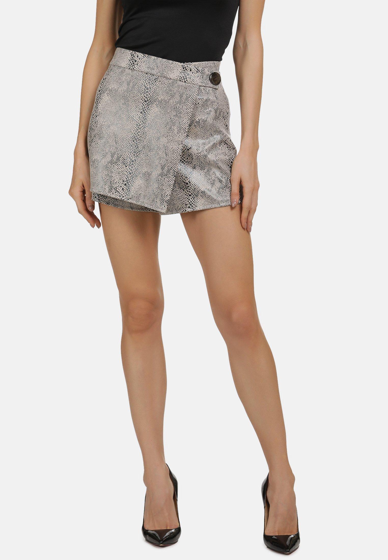 Damen MIT SCHLANGENMUSTER - Shorts