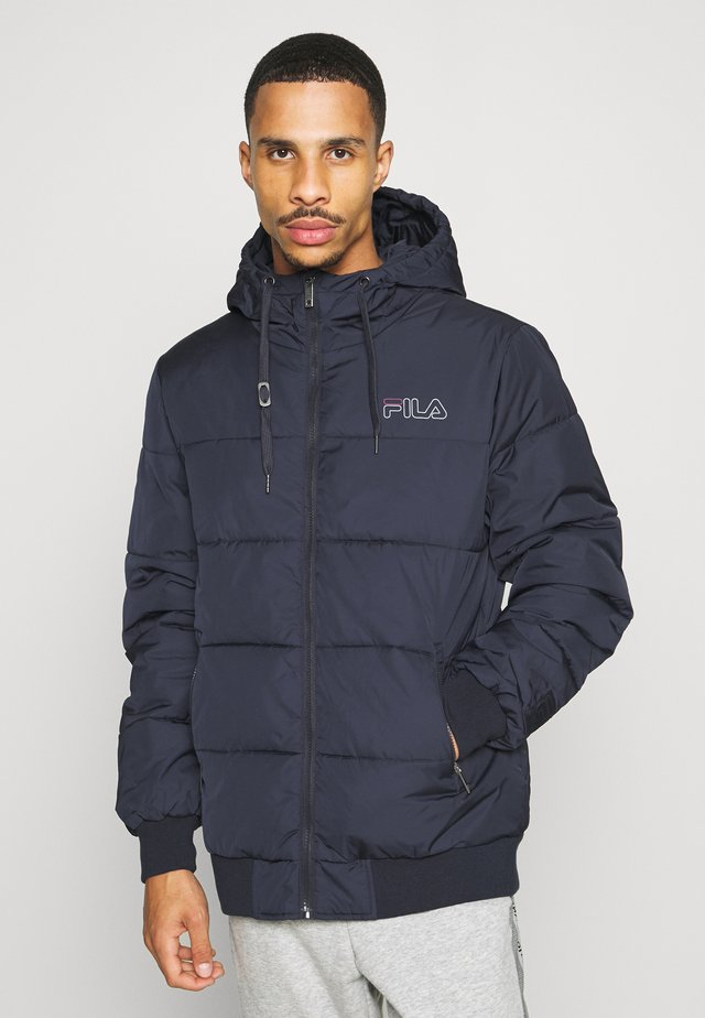 LASSE PUFFED JACKET - Winter jacket - black iris