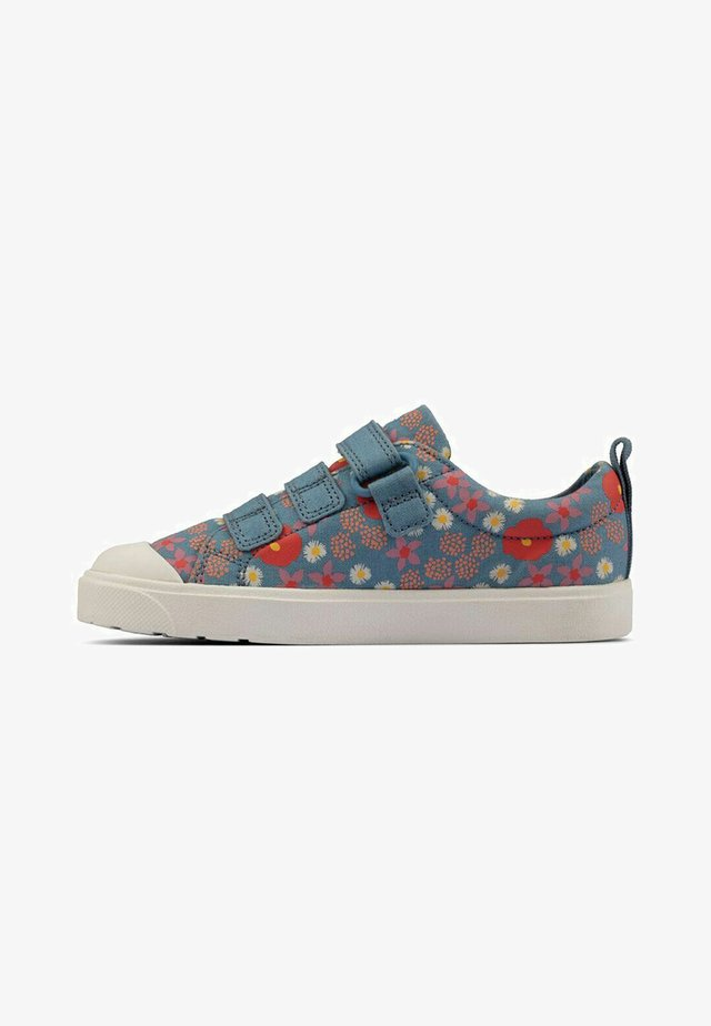 CITY VIBE - Sneakers laag - blue floral