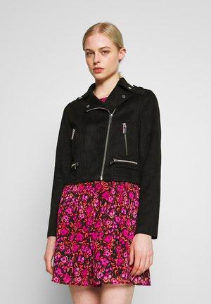 GRAMMY - Veste en similicuir - noir