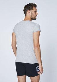 Chiemsee - DOPPELPACK  - Basic T-shirt - grey - 1