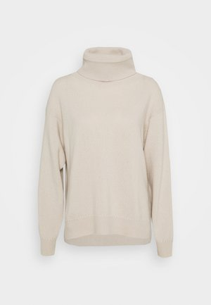MOLLY ROLL NECK  - Pullover - ivory