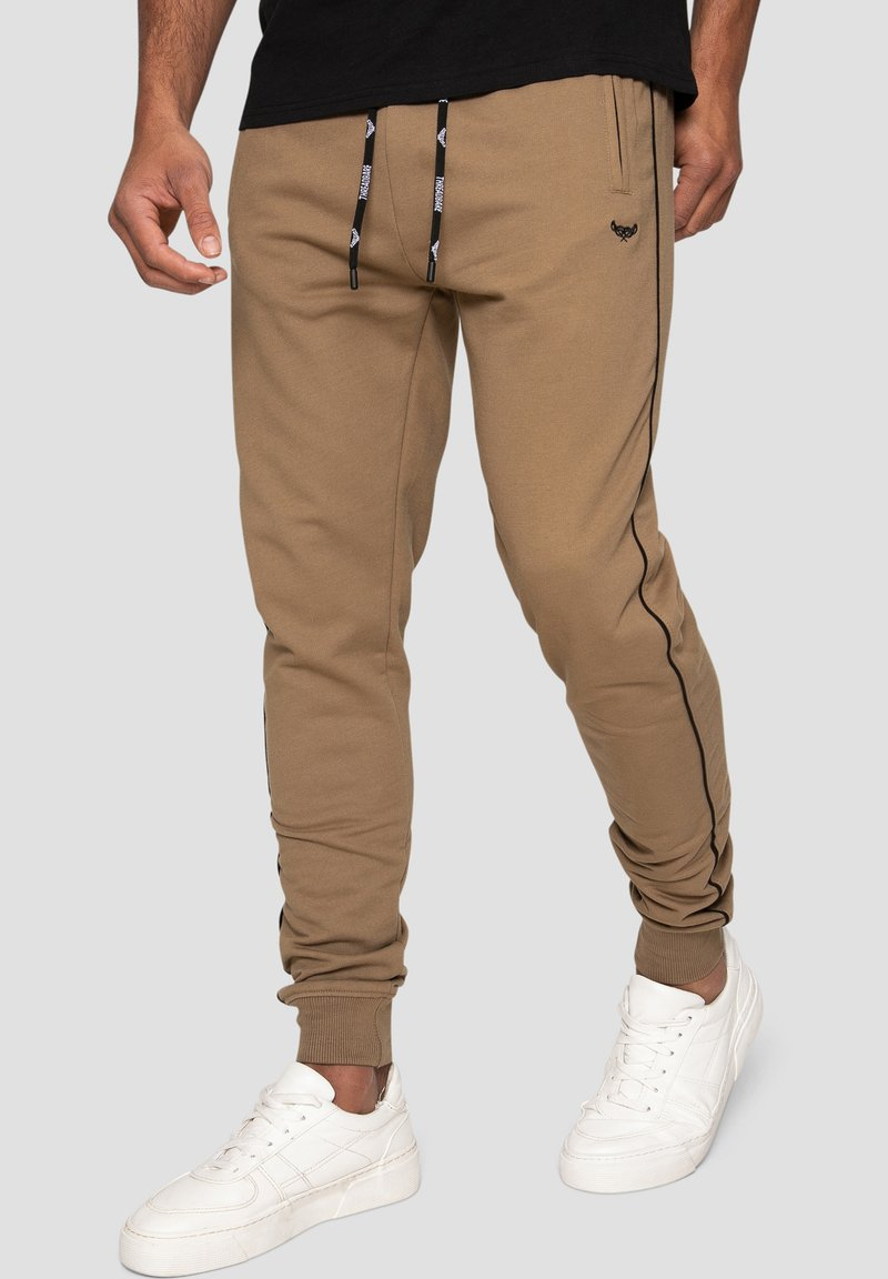 Threadbare - MORRIS - Pantalones deportivos - beige