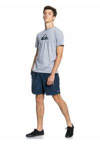 Quiksilver - COMP LOGO  - Print T-shirt - athletic heather - 1
