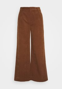 BUFFY TROUSERS - Trousers - emperador