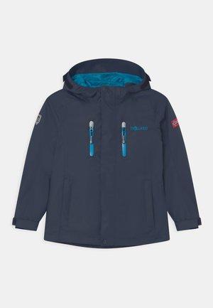 KIDS MYRDAL 2-IN-1 UNISEX - Hardshell jacket - navy/light blue