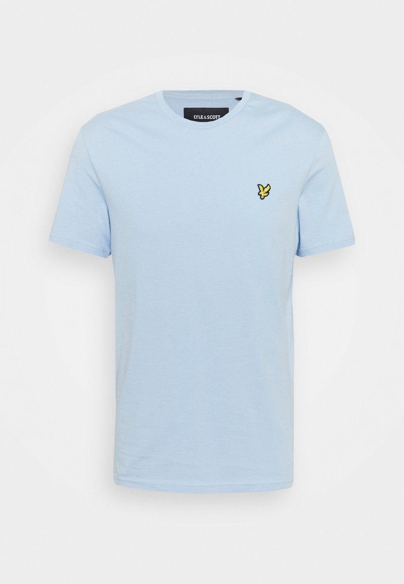 Lyle & Scott - PLAIN - T-shirt basic - light blue