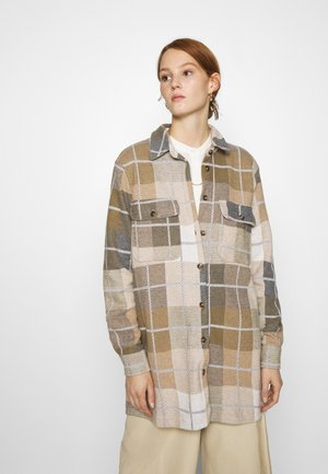 JOLENE WORKWEAR - Classic coat - green melange