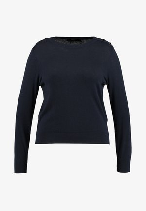 VMMILDA O NECK BUTTON - Jumper - night sky