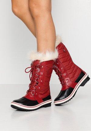 TOFINO II - Winter boots - red dahlia