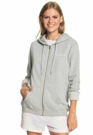 Zip-up hoodie - heritage heather