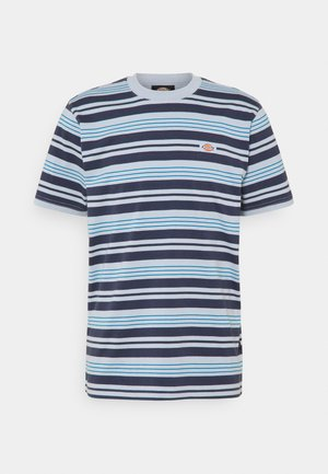 WHEATON - Print T-shirt - fog blue
