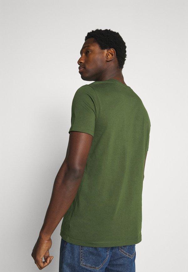 Marc O'Polo SHORT SLEEVE - T-shirt basic - dried herb/oliwkowy Odzież Męska YGVU