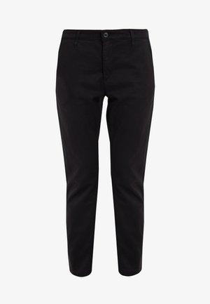 CADEN - Trousers - super black