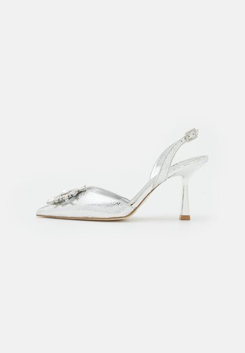 CASIS - Classic heels - silver