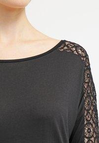 s.Oliver - Long sleeved top - black - 4