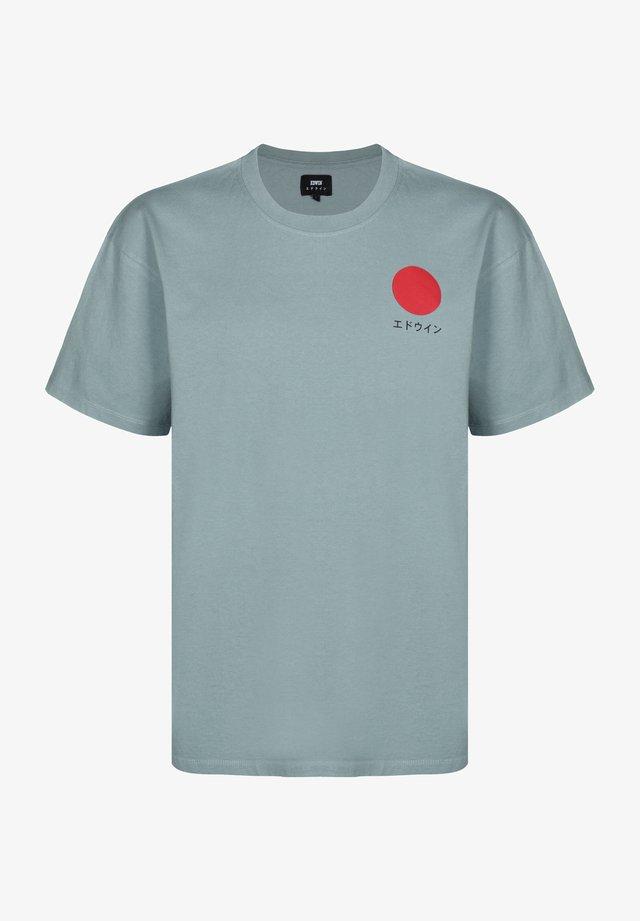 JAPANESE SUN - T-shirt print - arona garment washed