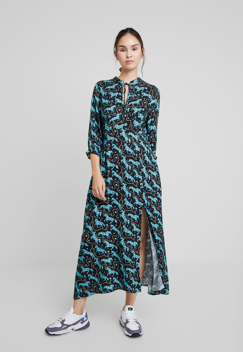 Louche - SALIM HORSES - Maxi dress - blue